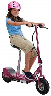 Girls Pink Electric Scooter For Kids & Adults Street Legal 1
