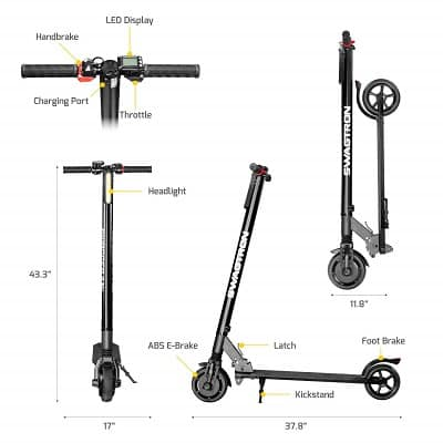 Swagtron Electric Scooters & Popular Models Reviews and Company Overview 19