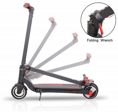 Best 5 Lightweight Folding Adult Electric Scooters For