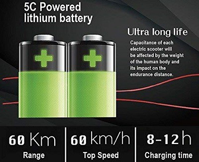 Q-mini Qiewa Electric Scooter battery