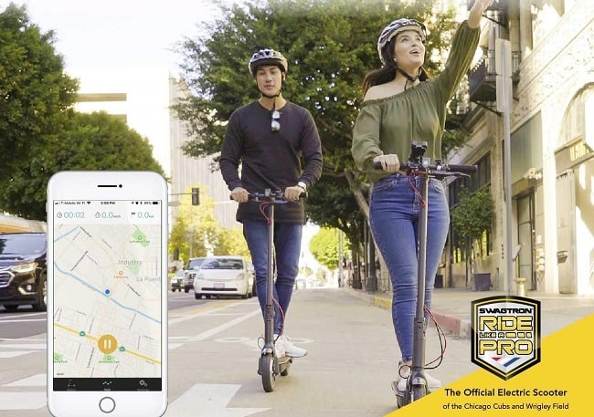 Swagger 5 Electric Scooter smartphone app