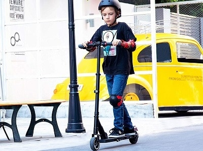motorized scooter for kids